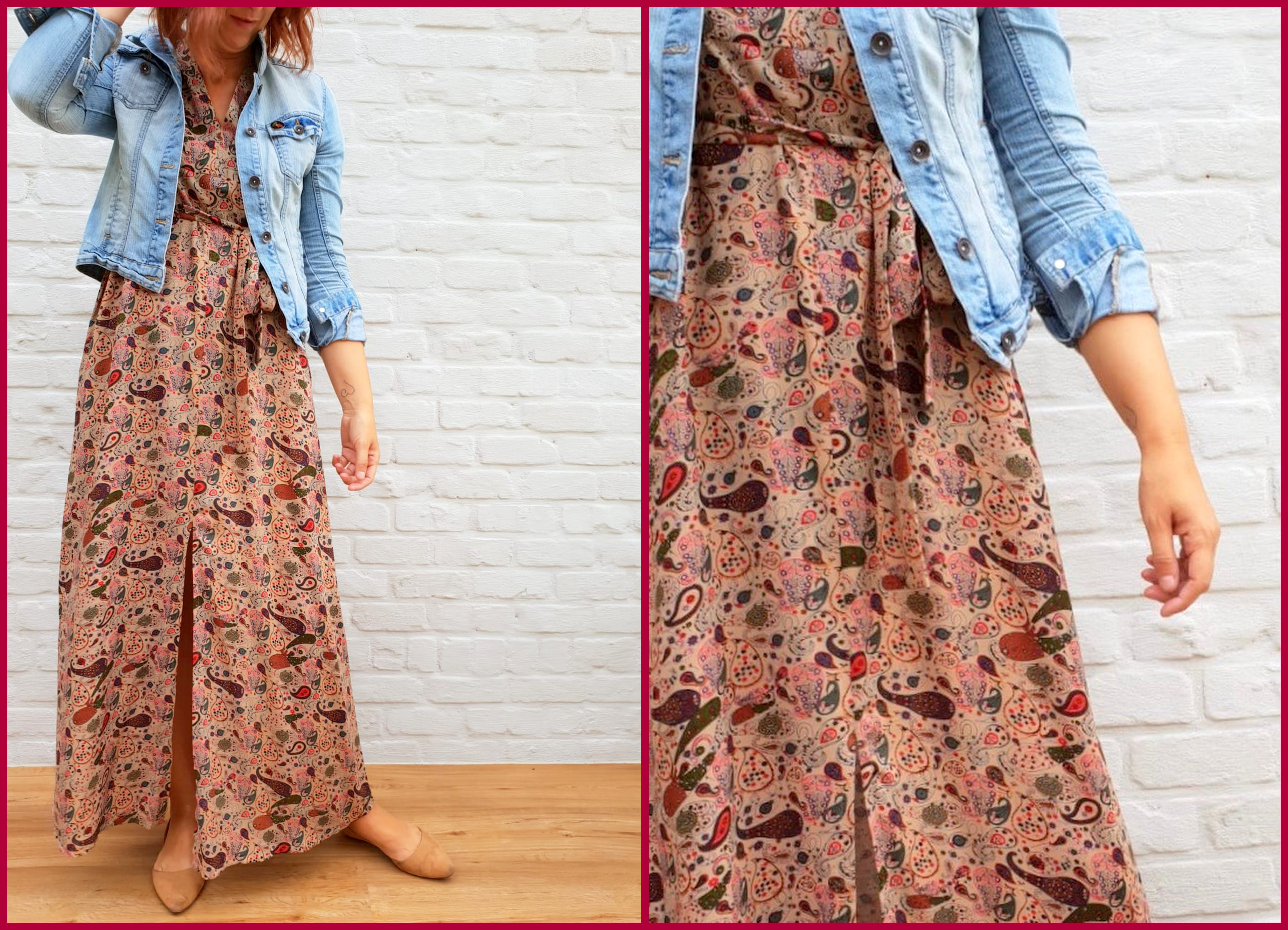 autumn maxi dress