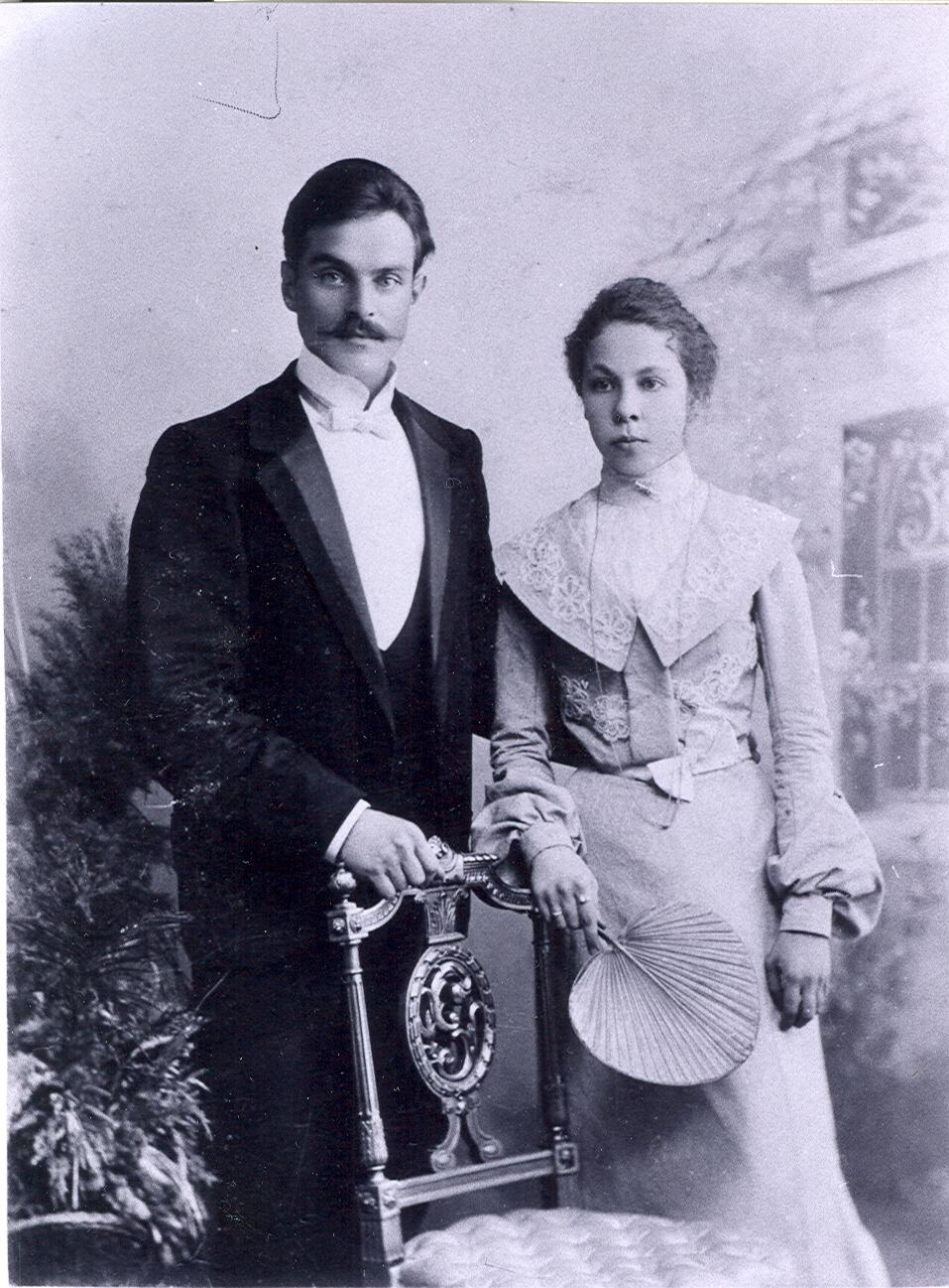 Константин Геннадьевич и Екатерина Николаевна Зубарёвы