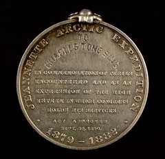 Jeannette Arctic Expedition Congressional Medal reverse
