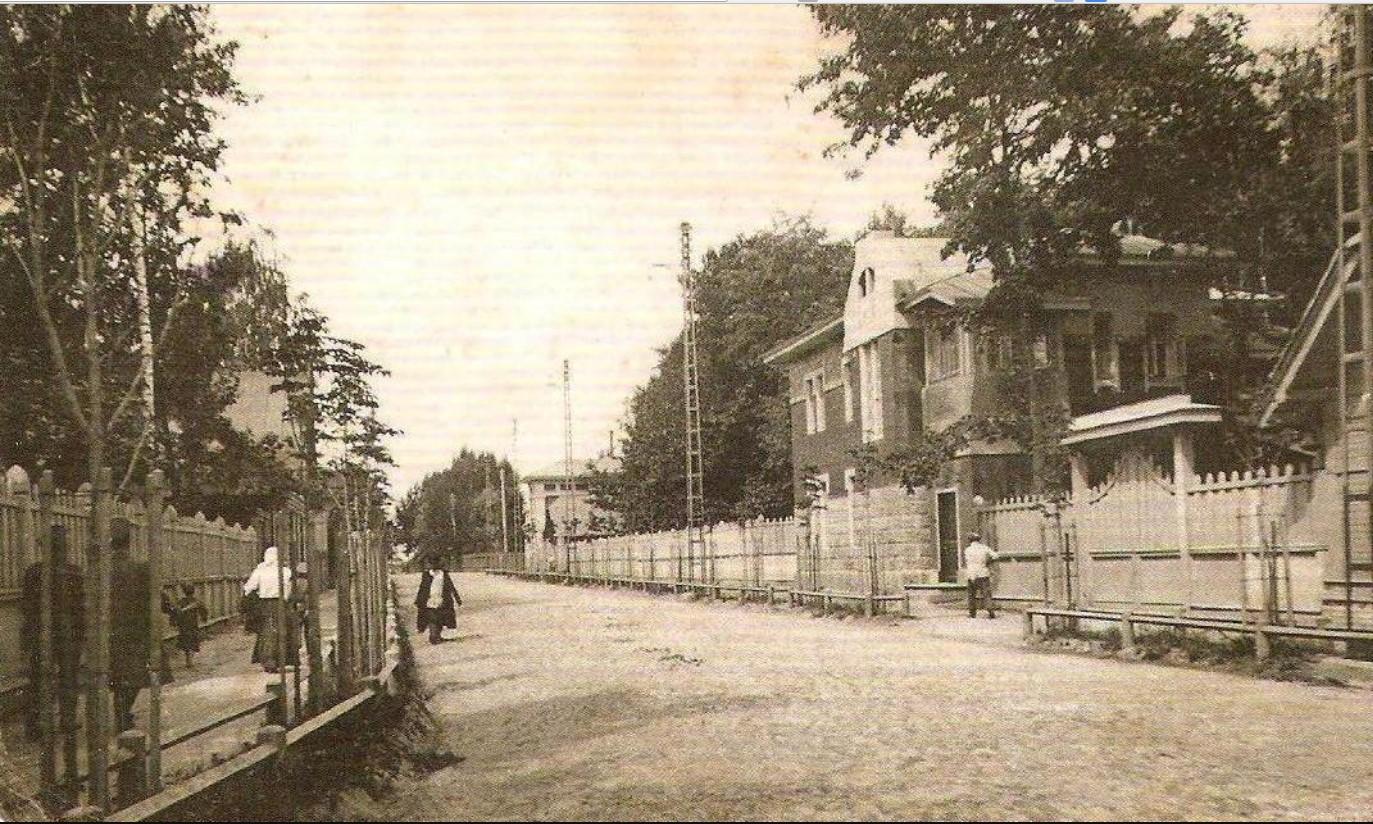 Главная Вокзальная улица