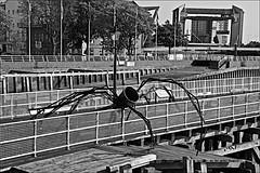Hull Pier  Monochrome