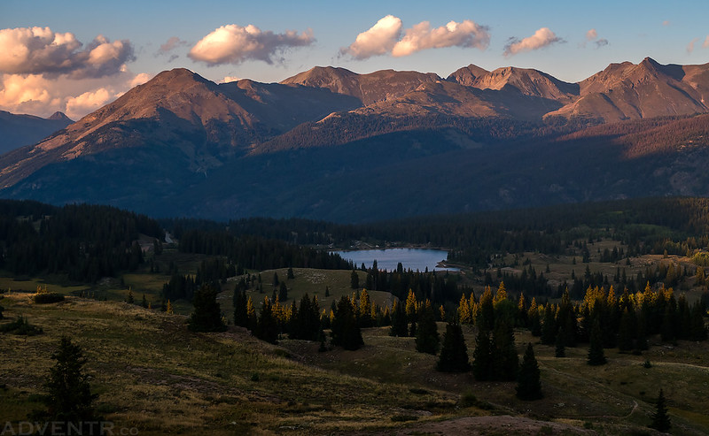 Molas Pass at Sunset
