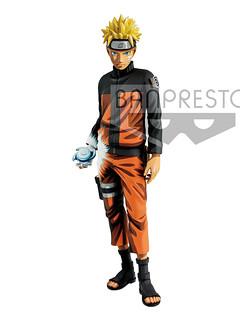 Banpresto Naruto Shippūden Grandista-Shinobi Relations Naruto Uzumaki-Manga Dimensions-