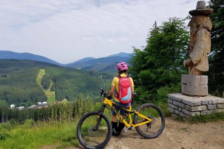 Bike SNOW tour: co s sebou vozit v batůžku na kole?