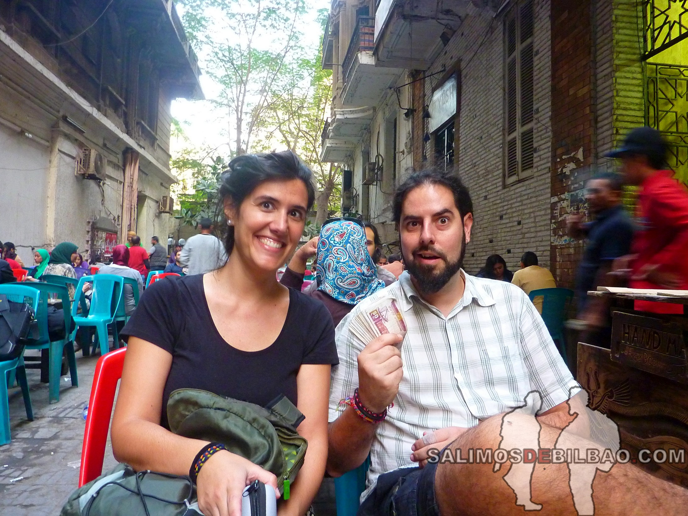 0048. Katz y Saioa, libras egipcias, Cairo