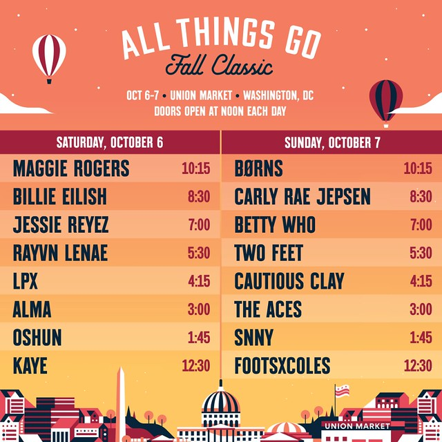 All Things Go Set Times