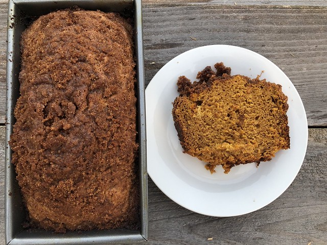 Pumpkin Crumb Bread