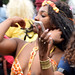 DSC_8556b Notting Hill Caribbean Carnival London Exotic Colourful Costume Girls Dancing Showgirl Performers Aug 27 2018 Stunning Ladies