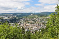 La Ville de Mende, vue depuis la Montée Laurent Jalabert - Photo of Sainte-Hélène