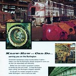 Sun, 2018-08-19 18:57 - This nifty ad from the Burlington appeared in the June 1963 issue of Trains magazine.