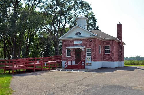 Wisconsin, St. Croix County, Boardman School; Richmond Town Hall