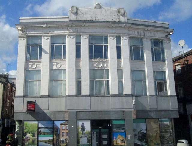 Deco Style Frontage, Rochdale