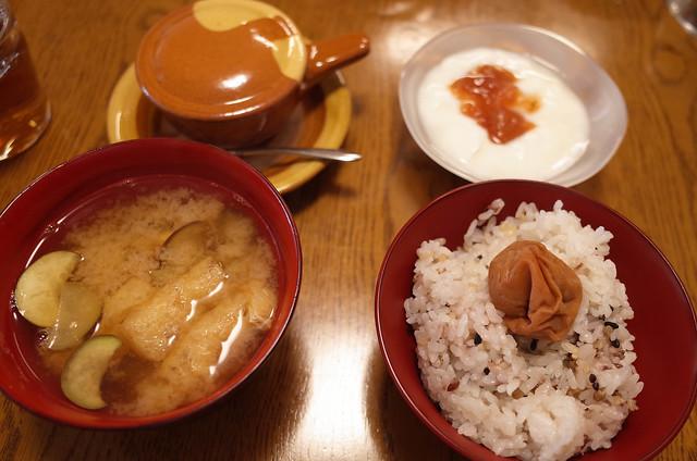 20180822和の朝ご飯 (1 - 2)