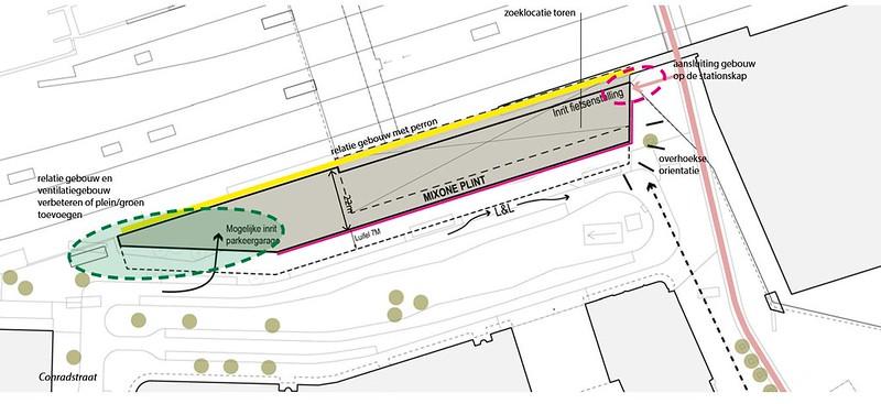 Central District Conradstraat nieuwbouw map