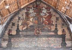 royal arms of Elizabeth I, 1587