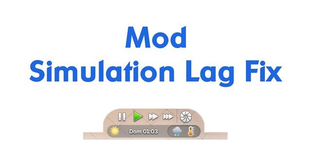 Mod Simulation Lag Fix Atualizado para o The Sims 4