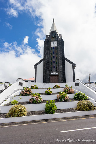 Cool church in Faial