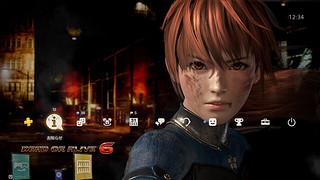 デッドオアアライブ6 PS4予約特典テーマ02