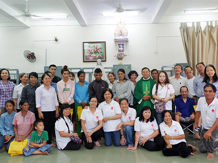 Thánh lễ cầu nguyện cho bệnh nhân