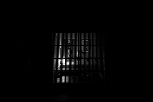 The entrance of a traditional Japanese house