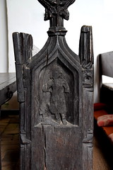 bench end figure (15th Century)