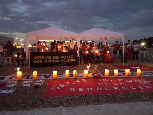 Greve de fome: Militantes pedem que STF respeite o povo brasileiro