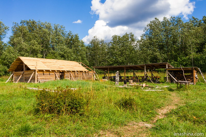 Музей живой истории эпохи викингов Бьоркагард, Берёзово, Ленинградская область