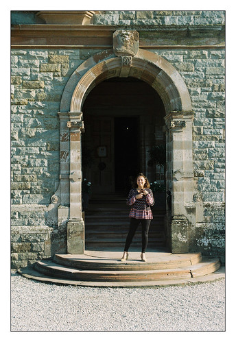 Castle Leslie Entrance