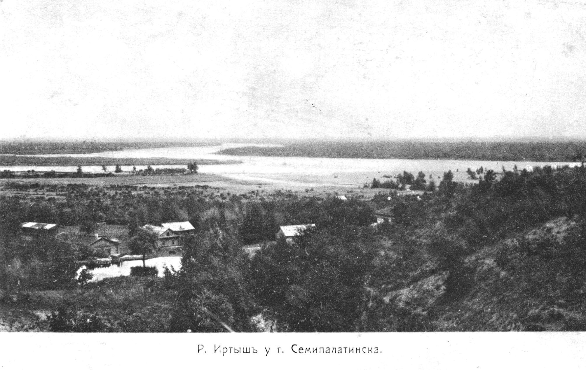Река Иртыш у Семипалатинска