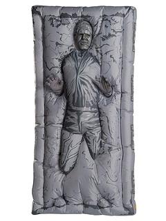 讓你毫無生命危險地變成碳凍韓索羅!!Rubie's《星際大戰五部曲:帝國大反擊》碳凍韓索羅 Han Solo in Carbonite 充氣式戲服