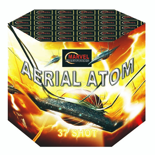 Aerial Atom 37 Shots by Marvel Fireworks