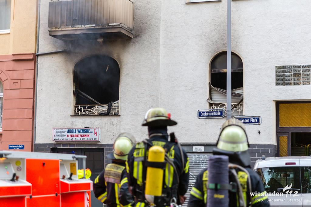 Wohnungsbrand Elsässer Platz 15.09.19