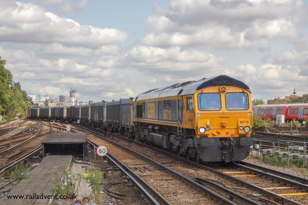 """Freight At The Busiest Station In The UK"""