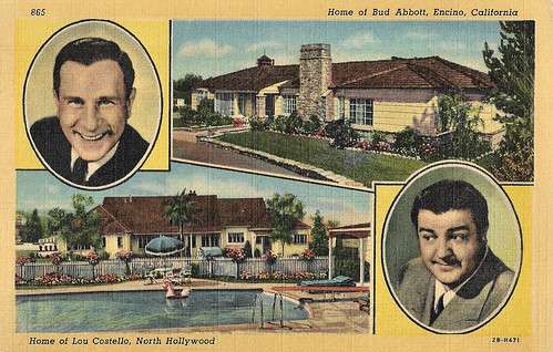 Bud Abbott & Lou Castello at Homes