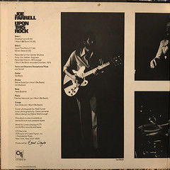 JOE FARRELL:UPON THIS ROCK(JACKET C)