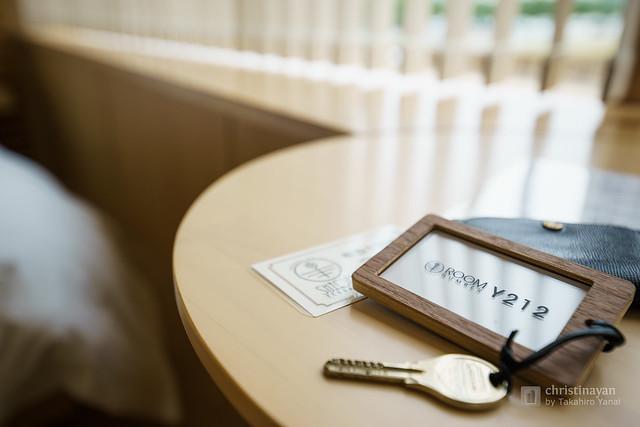 Room key in SUIDEN TERRASSE