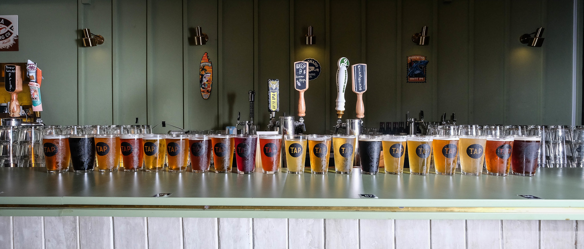 TAP - 20 Different Craft Beers at just $10 a Pint! - Miss