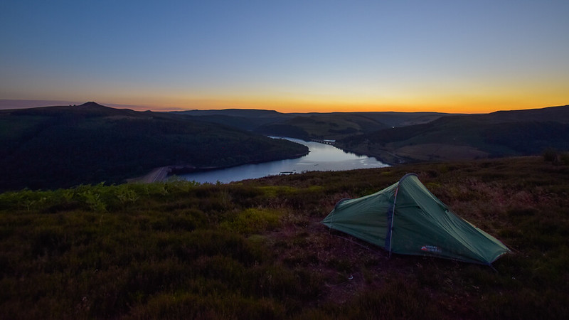 Bamford Edge, Peak District - Vango Banshee 200
