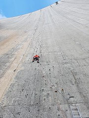 Climbing: Luzzone Dam, Switzerland (04-Aug-2018) Image