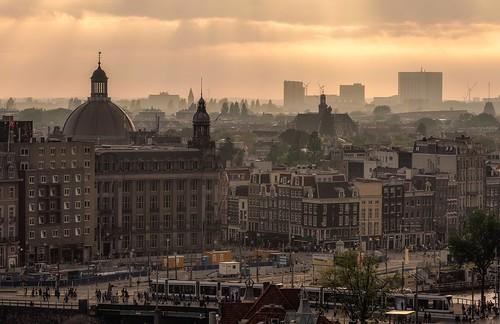 The city, Amsterdam