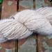 Finished dog fluff yarn