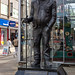 Fred Dibnah (a statue)