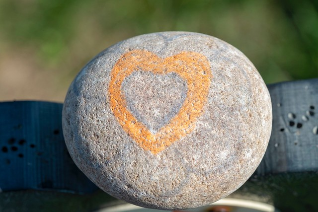 Heart stone, Barnack Hill, Fujifilm X-Pro1, XF60mmF2.4 R Macro