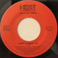 SALT-N-PEPA:PUSH IT(REMIX)(LABEL SIDE-B)