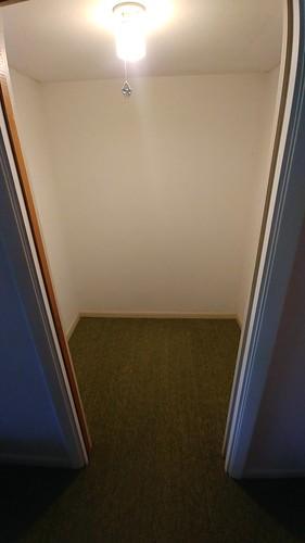 0. Empty closet room