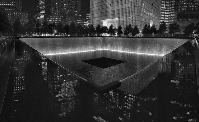 "9/11 Memorial - ""No day shall erase you from the memory of time."" -- Virgil"