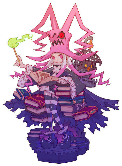 Dragon Marked For Death 魔女イラスト