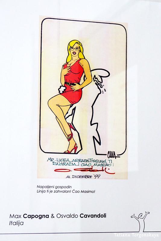Рисунок Макса Капоньа и Освальдо Кавандоли