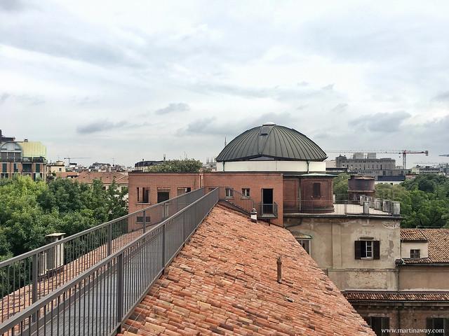 Vista dall'Osservatorio della Pinacoteca di Brera