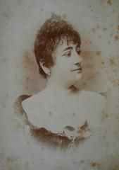 Matilde Serao (Patras 1856-Naples 1927) - Photo 2nd half 19th century - My property